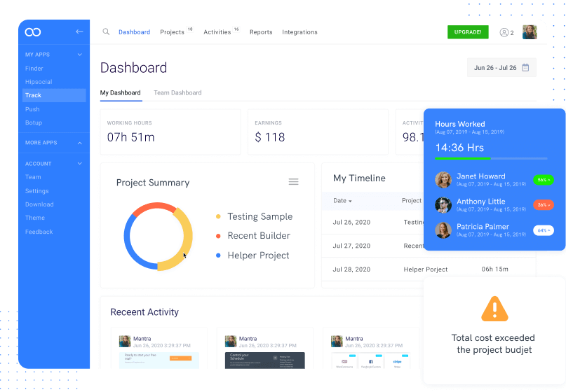 time-tracking-dashboard